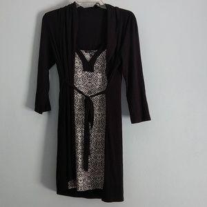 Robe and chemise set
